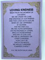 Loving kindness, Dalai Lama