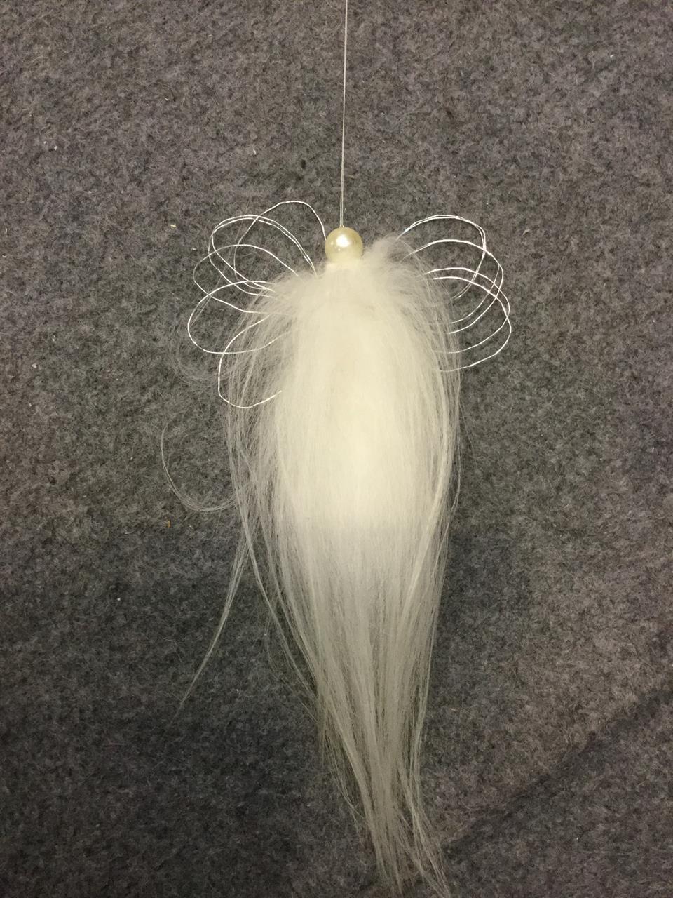 Päls ängel vit