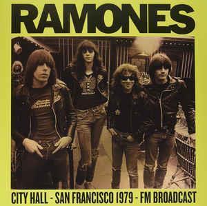 Ramones-City Hall-San Francisco 1979