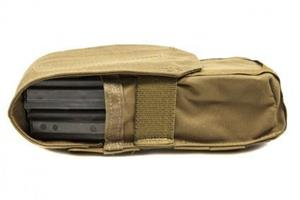 Double M4 Mag Pouch With Flap