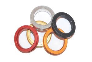 Avstandsring Spindel 17x5mm Mix Farger