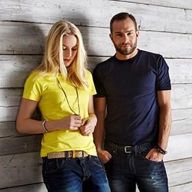 T-shirts med eller utan tryck i alla kvalitéer