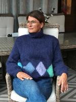 Ruter dame genser