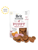 Brit Jerky Puppy Turkey Meaty Coins 80g