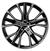 GMP GUNNER 20X9.0 ET33 5X112 Black Diamond