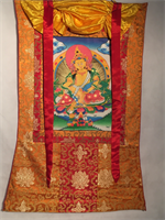 Thangka orange / gul