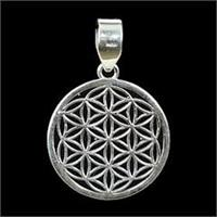 Hänge Flower of Life 925 silver 2,4cm