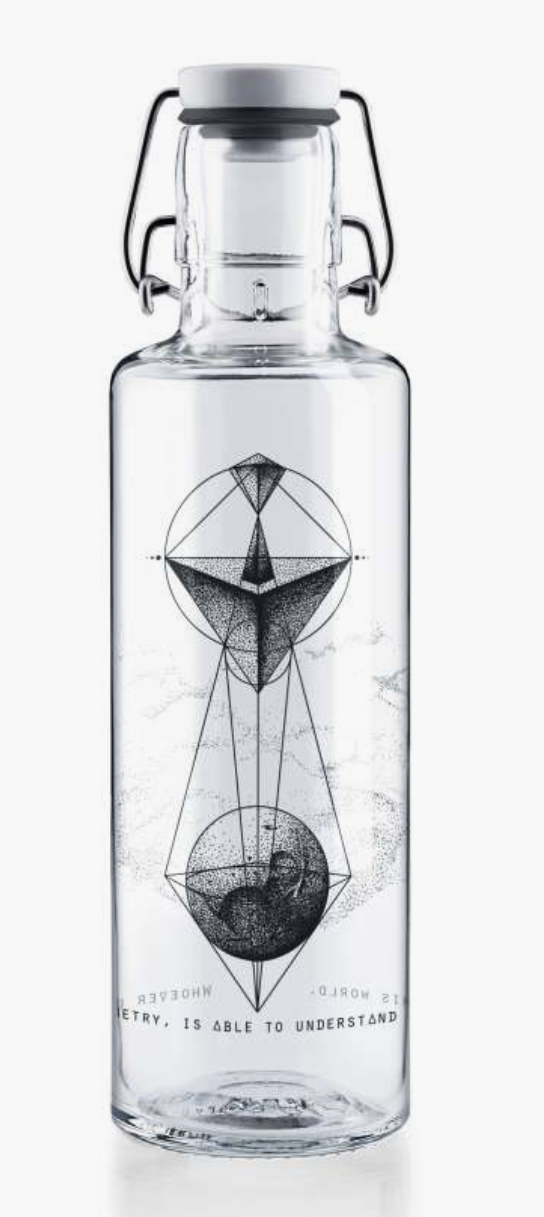 """Soulbottle 0,6l """"Whoever understands Geometry"""""""