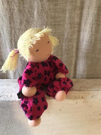 Large hug doll with blond tassels - SEK 300