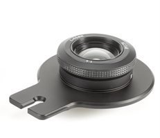 Lensplate with Cambo 90mm Lens (black finish)