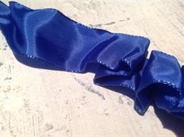Blått band med ståltråd