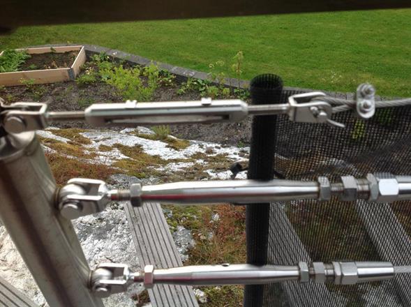 75% vindred - mot rostfritt stål & wire - hos en som tänkt till lite extra