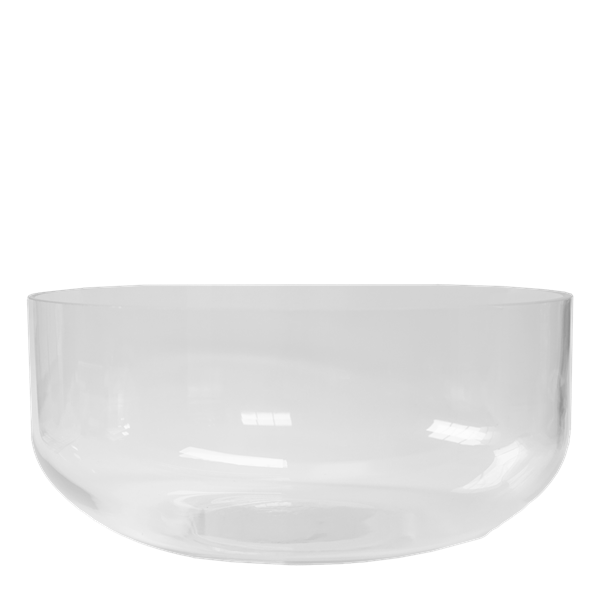 SIMPLE BOWL clear large