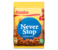 Marabou Never Stop 18x100 g