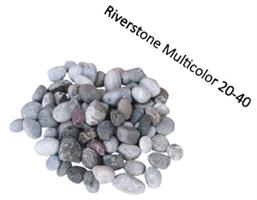 Tumlad Dekorsten Riverstone Multicolor 20 kg 20-40 mm