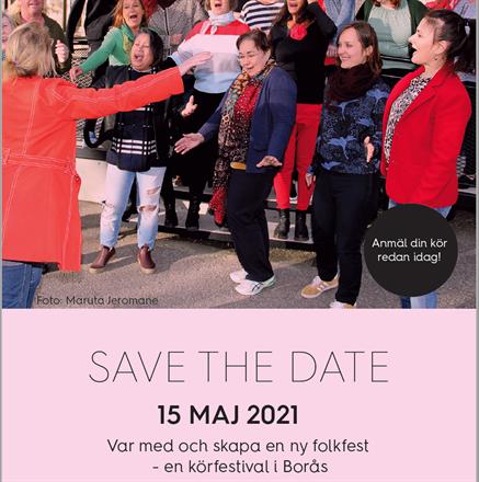 Var med och skapa en ny folkfest - en körfestival i Borås!