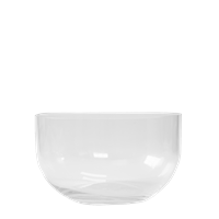 SIMPLE BOWL clear small