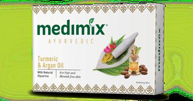 Medimix Turmeric & Argan Oil 125 gr