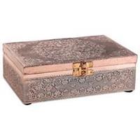Tarot ask eller smyckeskrin Mandala Kopparfärgad