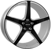 MONACO TR4 SILVER/BLACK 8,5X20 5X112 ET45