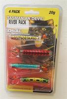 Tasmanian Devil sluksett River Pack 20g 4pk