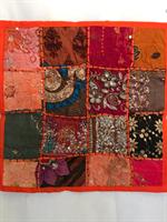 Kuddfodral indiska mönster orange