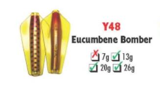Tasmanian Devil #Y48 Eucumbene Bomber 13.5 gram