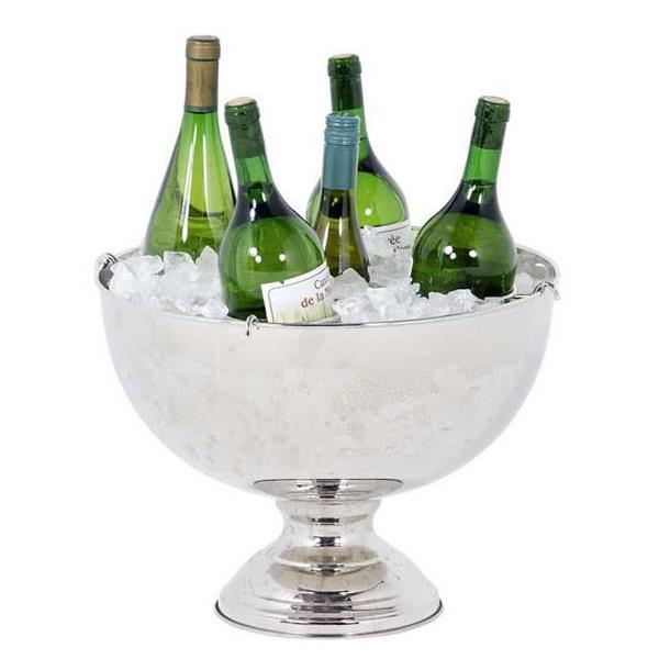 Champagne skål Crespa i nickel