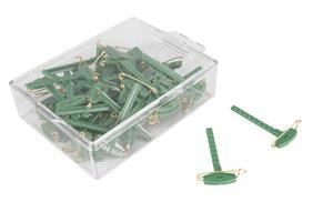 Nål till corsage i grönt