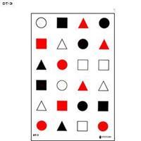 3 färgs med 24 rektanglar