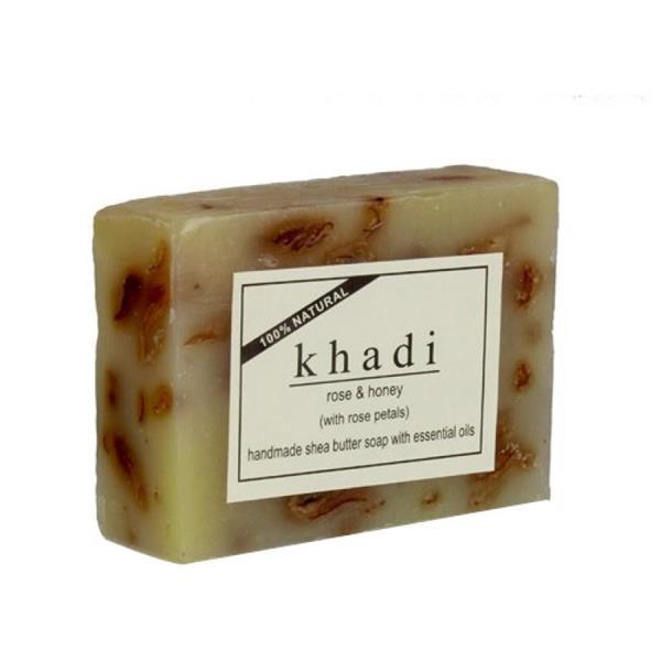 Natural Sheabutter soap Rose & Honey 100 gr