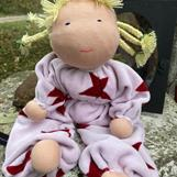 Large hug doll with brown dreadlocks- SEK 350 !