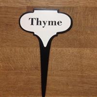 Örtskylt ifrån IB Laursen Thyme Timjan