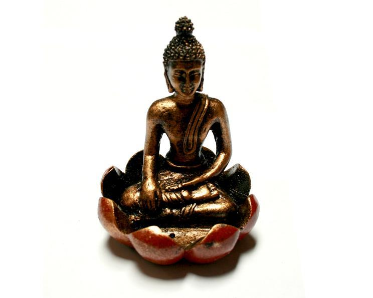 Buddha - Lotusblomma guld (6 pack)