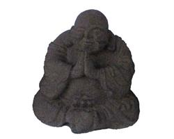 Happy Buddha - Brun 15cm (8 pack)