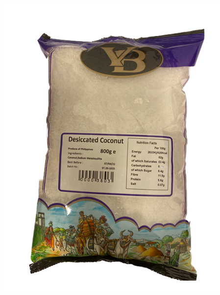 V.B. Dessicated Coconut Fine 8x800g