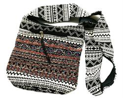 Väska - Boho svart (4 pack)