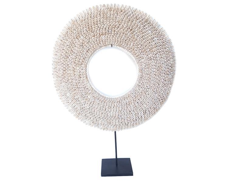 Papua - Halsband cowry rund 42 cm( 2 pack)