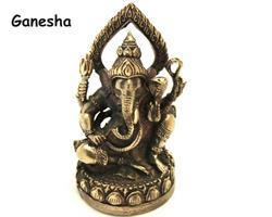 Brons - Miniatyr Ganesha mini (2 pack)