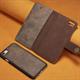iPhone 8 Plus / 7 Plus Skinn Lommebok Etui  (Magn)