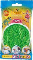 Hama perler Midi, Fluorencerende Grønn 207-42 1000stk