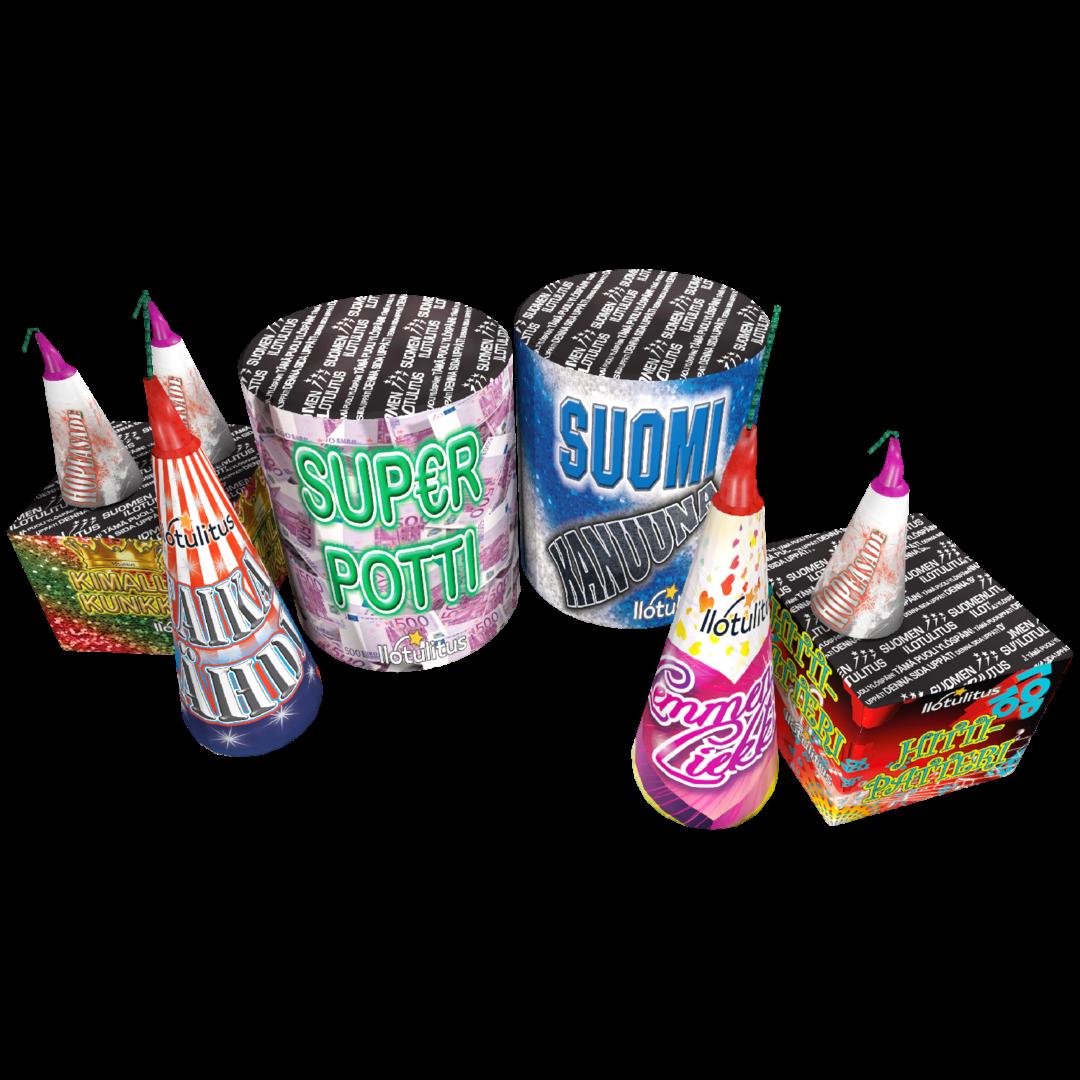 High Quality Fireworks patapaketti