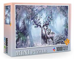 Mini Puzzle, Fantasi Hjort 38*26cm (66-012) 1000 brikker