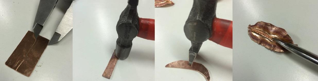 Fold forming att göra ett blad