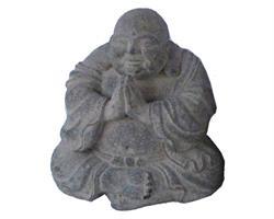 Happy Buddha - Grå 15cm (8 pack)