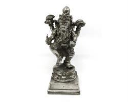 Brons - Silver Ganesha 14cm (2 pack)