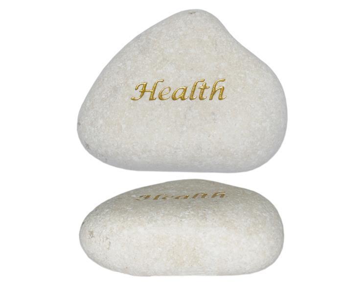 Vit sten - Health (12 pack)