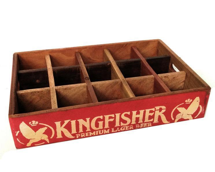 Vintage Indien - Soda tray (6 pack)