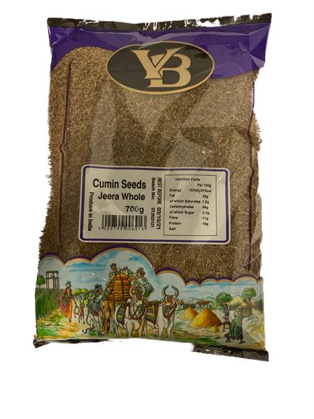 V.B. Jeera Whole (Cumin) 11x700g