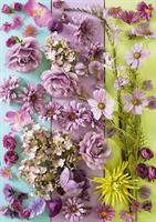 Puslespill Purple Flowers, 1000 brikker